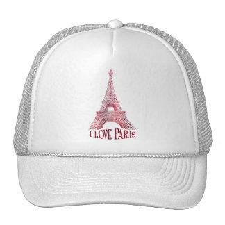 Eiffel tower mesh hat