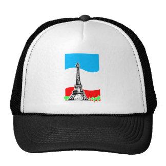Eiffel Tower Trucker Hats
