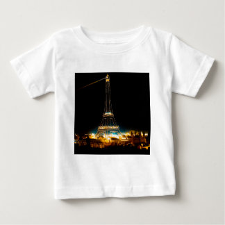 Eiffel Tower illuminated at 1900 Paris Exposition Baby T-Shirt