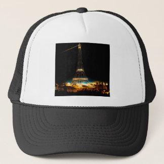 Eiffel Tower illuminated at 1900 Paris Exposition Trucker Hat