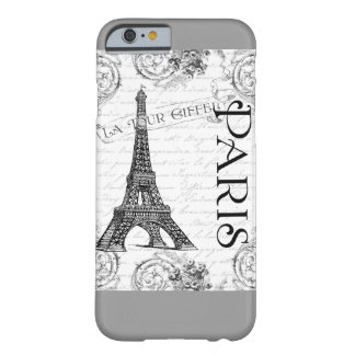 Eiffel Tower in Black and White Barely There iPhone 6 Case