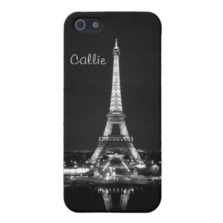 Eiffel Tower in black & white II Case For iPhone SE/5/5s
