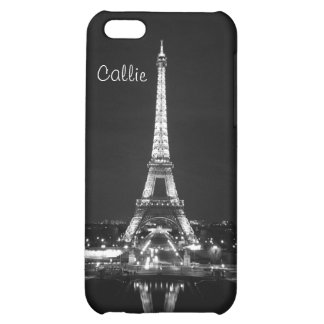 Eiffel Tower in black & white II iPhone 5C Cover