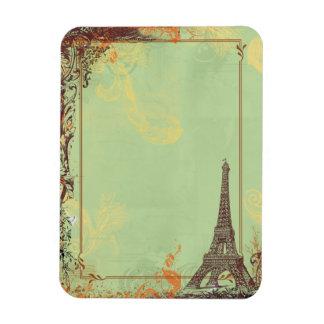 Eiffel Tower in Green Flexible Magnet
