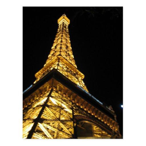 Eiffel tower in Las Vegas Postcard