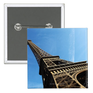eiffel tower in PARIS 2 Inch Square Button