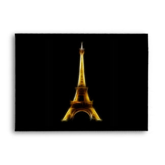 Eiffel Tower in Paris France Envelope