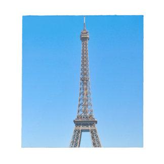 Eiffel Tower in Paris, France Notepad