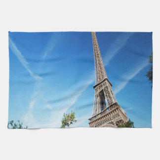 Eiffel Tower in Paris Kitchen Towels