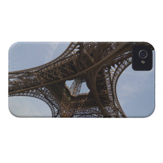 Eiffel Tower in Paris low angle view iPhone 4 Covers