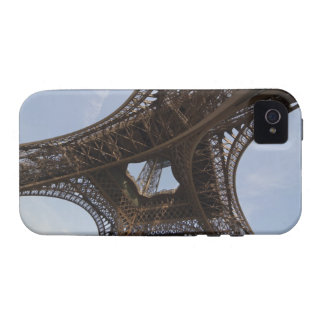 Eiffel Tower in Paris low angle view iPhone 4 Cases