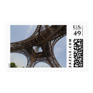 Eiffel Tower in Paris, low angle view Postage