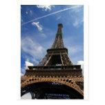 Eiffel tower in Paris Post Card