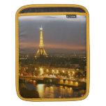 Eiffel Tower in Paris Rickshaw Sleeve iPad Sleeves