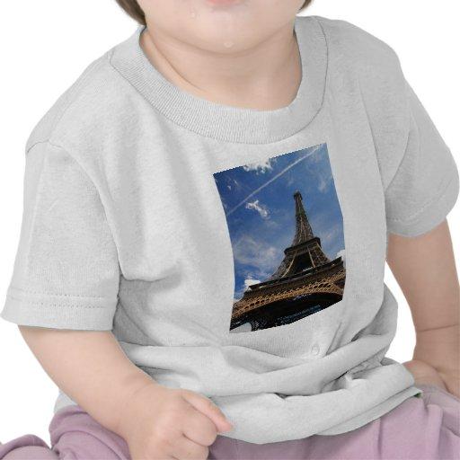 Eiffel tower in Paris Shirts