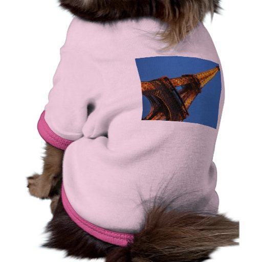 Eiffel Tower in the Sky Pet T Shirt
