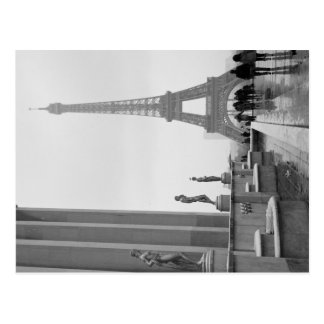 Eiffel Tower in the Snow Postcards