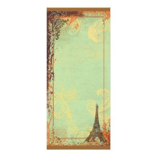 Eiffel Tower Invitation Rack Card