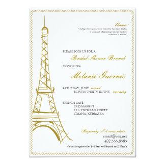 Eiffel Tower Invite