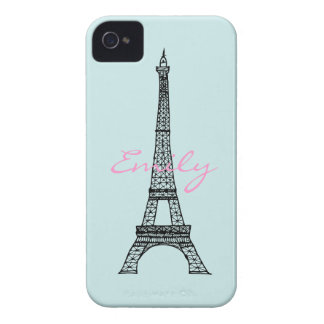 Eiffel Tower iPhone 4 Cases