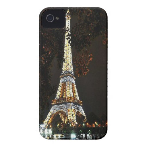 Eiffel Tower iPhone 4 Cover | Zazzle