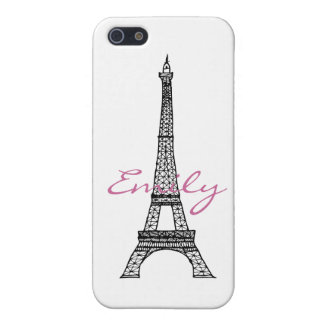 Eiffel Tower Cover For iPhone 5