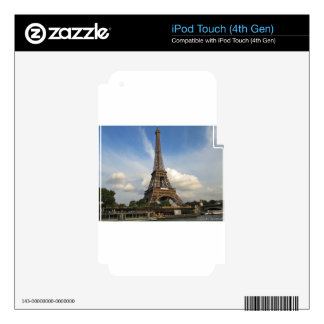 Eiffel Tower iPod Touch 4G Decals