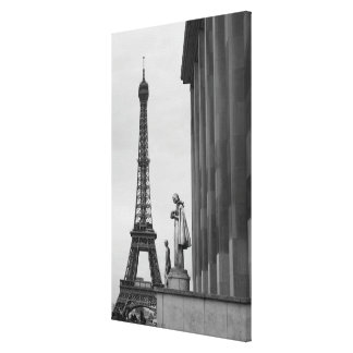 Eiffel Tower is a 19th century iron lattice Canvas Print