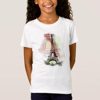 Eiffel Tower Kid's Shirt
