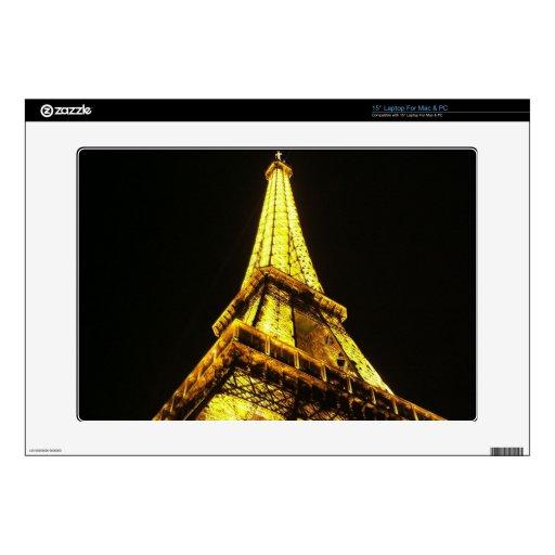 Eiffel Tower Laptop Decals