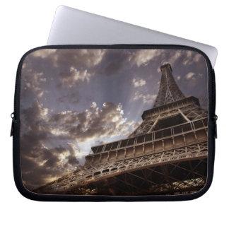 Eiffel tower laptop sleeves