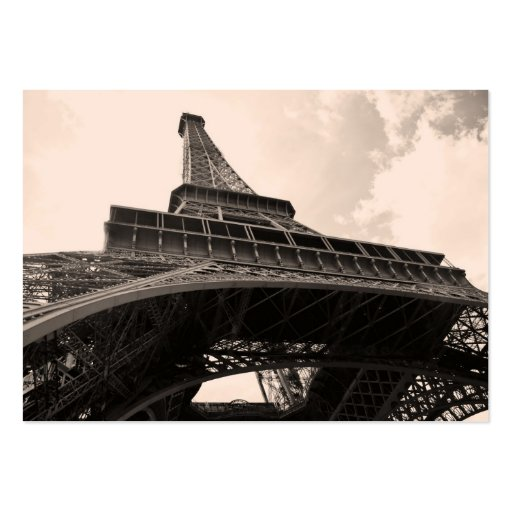 Eiffel Tower Large Business Card