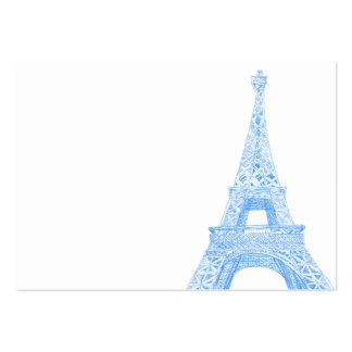 Eiffel tower large business cards (Pack of 100)