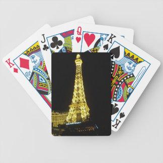 Eiffel Tower: Las Vegas Strip Bicycle Playing Cards