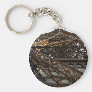 Eiffel Tower - Looking up Keychain