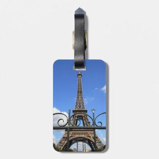Eiffel Tower Tag For Luggage