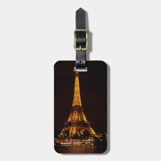 Eiffel Tower Luggage Tag