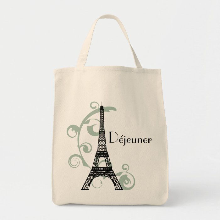 eiffel tower lunch bag zazzle