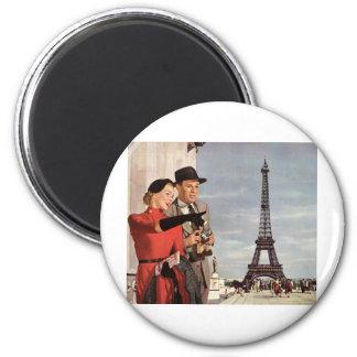 Eiffel Tower Refrigerator Magnet