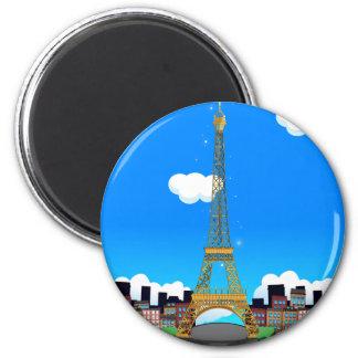 Eiffel Tower Fridge Magnets