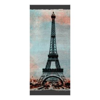 Eiffel Tower Morning Sunrise Vintage Custom Rack Cards
