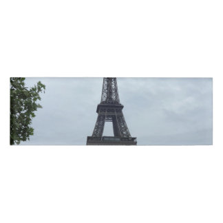 Eiffel Tower Name Tag