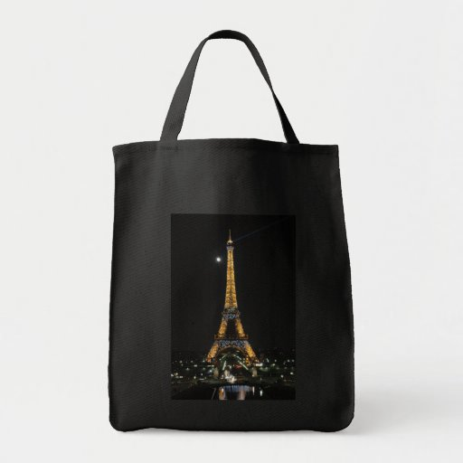 Eiffel Tower @ Night Grocery Tote Grocery Tote Bag