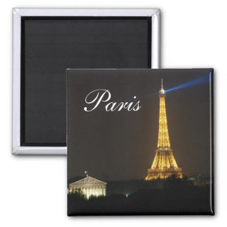 Eiffel Tower night Magnets