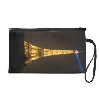 Eiffel Tower night Wristlet