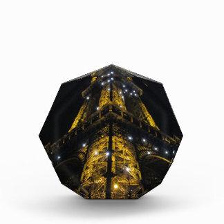 Eiffel Tower Nightime Yellow Lights - Paris,France Awards