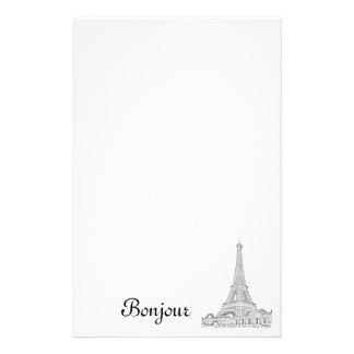 Eiffel Tower note pad Stationery