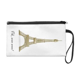 Eiffel Tower: Oh Wee Wee! Cute Bag Wristlet Purses