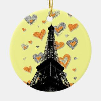 Eiffel Tower Ornament