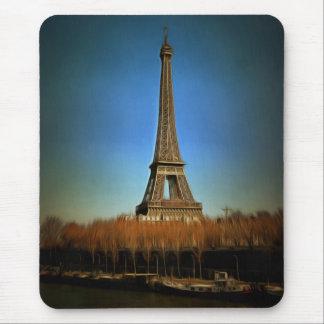 Eiffel Tower painting, Paris Mouse Pad